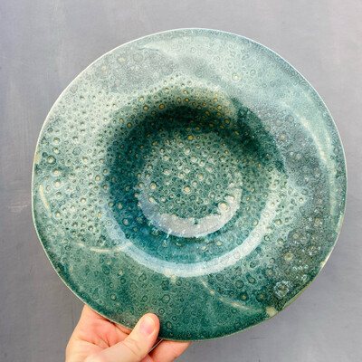 Farfurie paste Turquoise