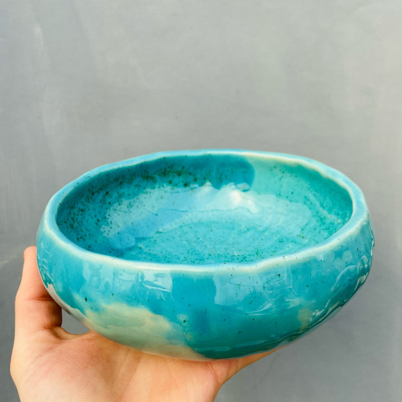 Bol salată Turquoise