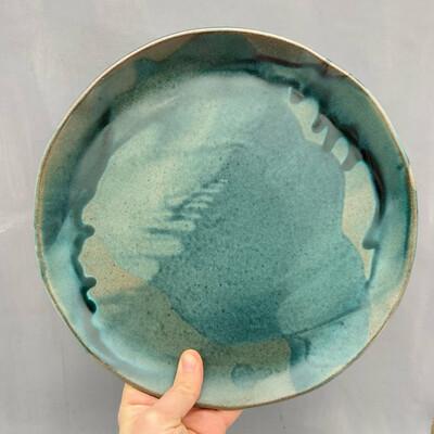 Farfurie Turquoise Mat