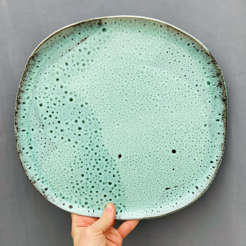 Platou Mare Verde Smarald