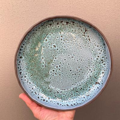 Farfurie medie Albastru Verzui