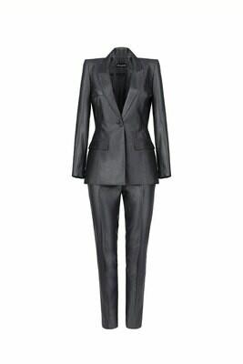 Классический костюм из габардина