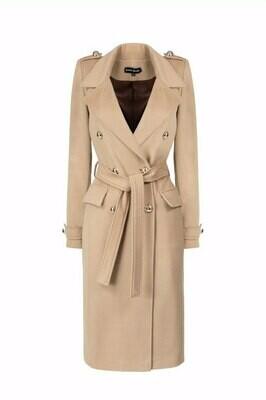 """Coat """"Audrey"""" camel"""