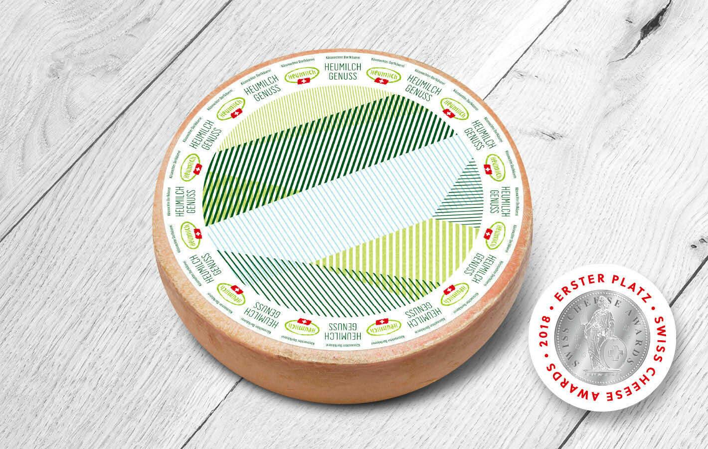 Heumilch Genuss Käse - laktosefrei (500g)