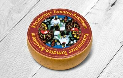 Küssnachter Tomaten-Basilikum Käse - laktosefrei (500g)