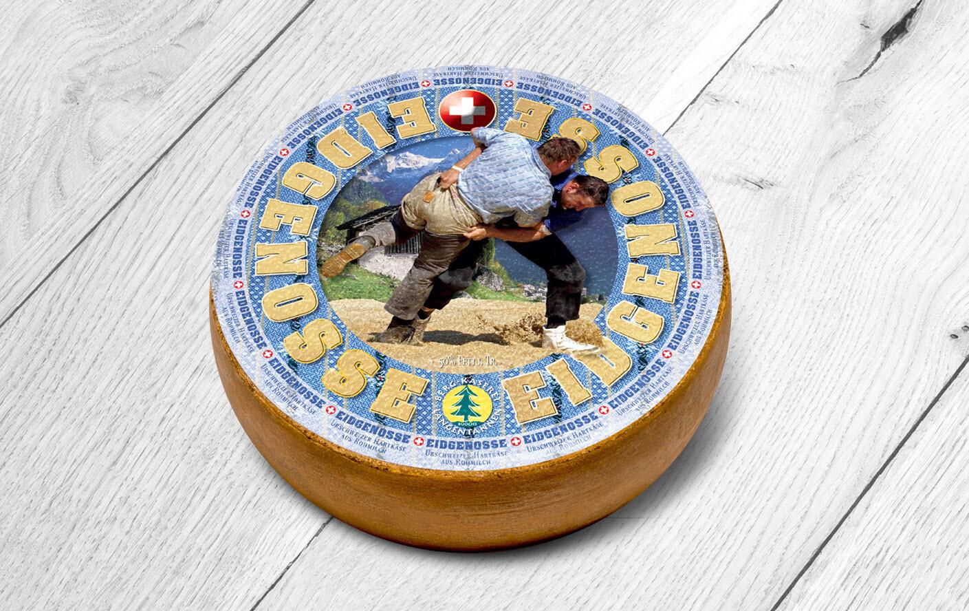 Küssnachter Eidgenosse Käse - laktosefrei (500g)