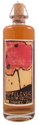 BIO Apfelessig aus dem Holzfass (70cl)