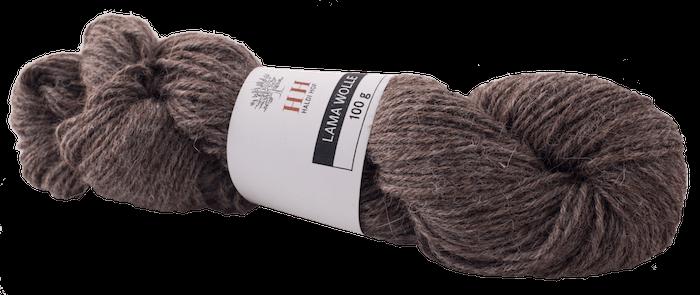BIO Alpaka Wolle grau (100g)