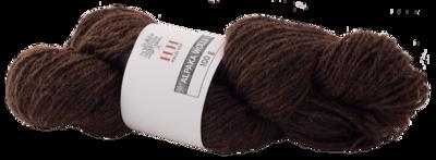 BIO Alpaka Wolle braun (100g)