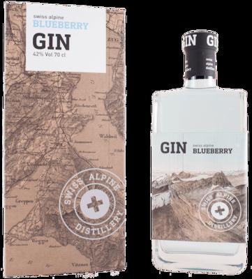 BIO Swiss Alpine Blueberry Gin (70cl / 42% Vol)