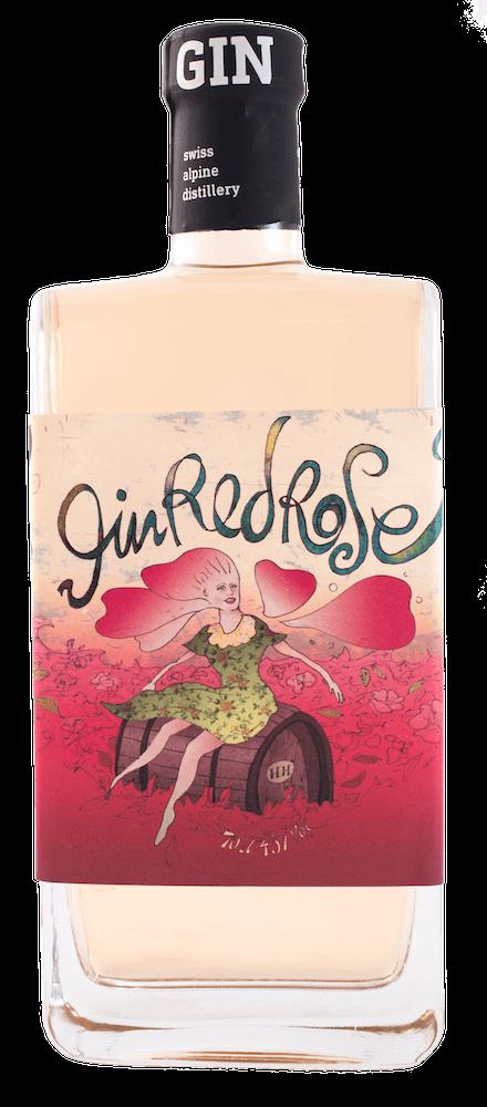 BIO Gin Red Rose (70cl / 45% Vol)