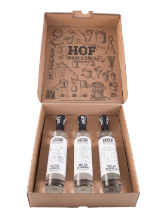 BIO Rigi Trio Gin (3x10cl / 45% Vol)