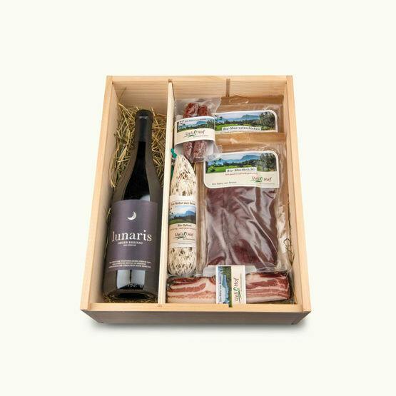 BIO Rotwein Kistli (Geschenkbox)
