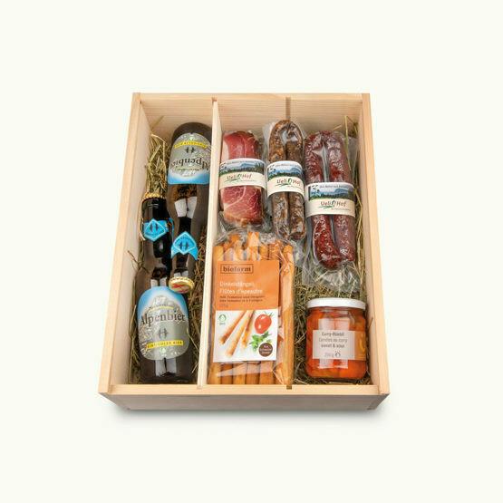 BIO Apéro Bier Kistli (Geschenkbox)