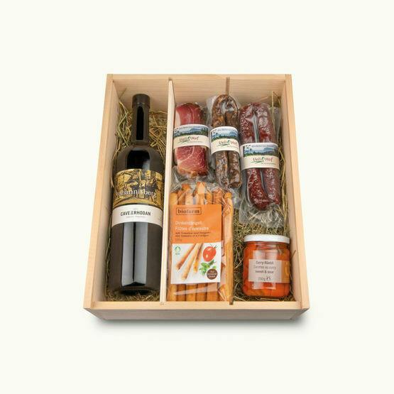 BIO Apéro Wein Kistli (Geschenkbox)