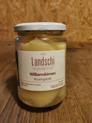 Williamsbirnen Kompott (250g)