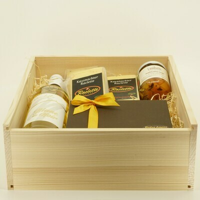 RIGI Raclette Kistli (Geschenk)