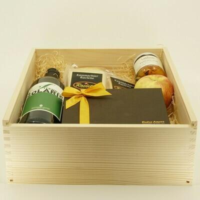 RIGI Deluxe Raclette Kistli (Geschenk)