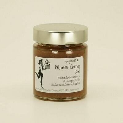 Pflaumen-Chutney - gluten- und laktosefrei (150g)