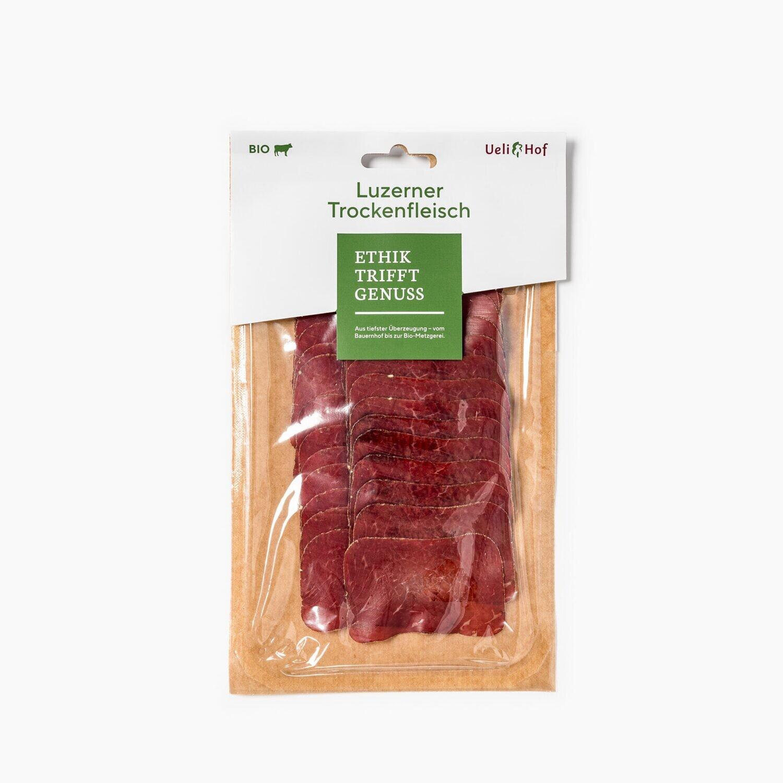 BIO Luzerner-Trockenfleisch geschnitten (ca. 70 - 80g)