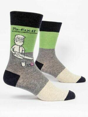 Blue Q Mens Socks - Mr. Fix It