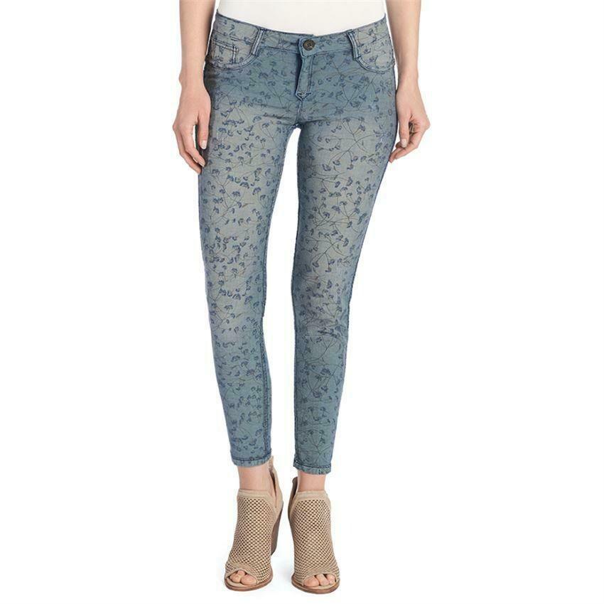 Coco & Carmen- reversible jeans denim/blue daisy l/xl