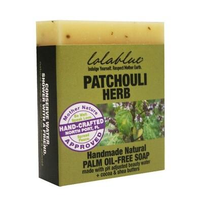 Lolablue-Soap-Patchouli Herb