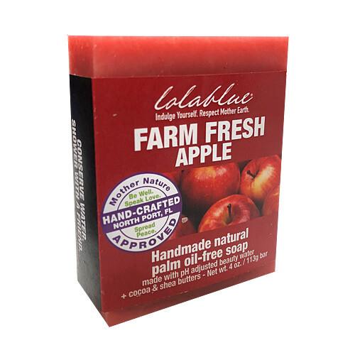 LolaBlue-  Soap  farm fresh apples
