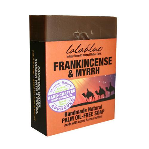 Lolablue-Soap-Frankincense and Myrrh