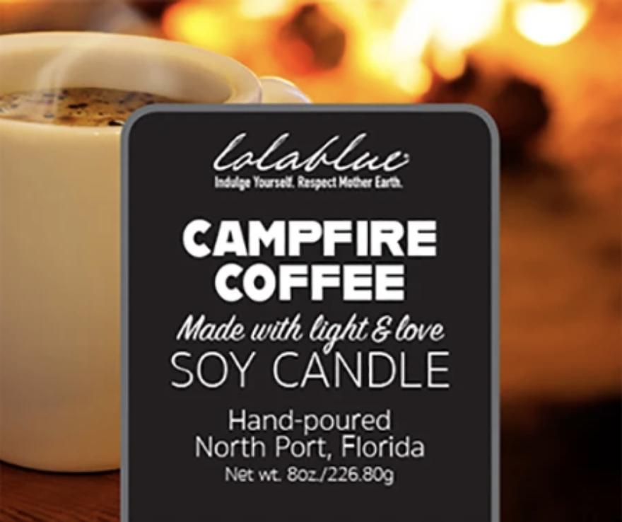 LolaBlue-  Candle Campfire Coffee
