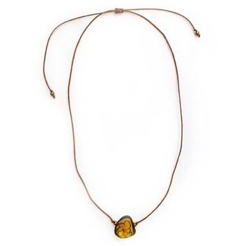 Tagua-Flora Necklace-Mint Yellow