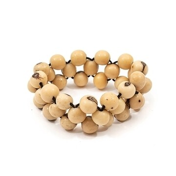 Tagua_Helen bracelet Ivory-IB475-IV