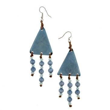 Tagua_Jara Earrings Biscayne Bay Lake Blue-IE792-bb