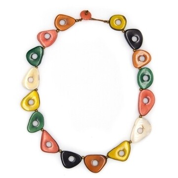 Tagua-Katherine Necklace-Multi