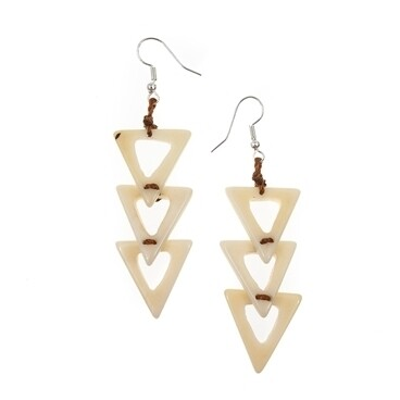 Tagua-Leidy Earrings-Ivory