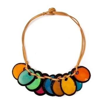 Tagua-Luchie Necklace-Multi