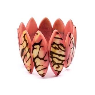 Tagua_Luz Bracelet Pink-IB411-pk