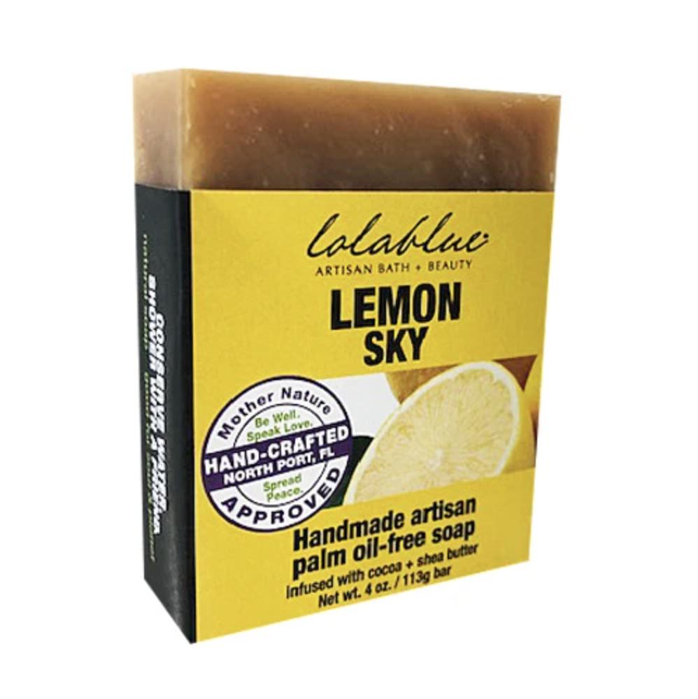 Lolablue-Soap-Lemon Sky