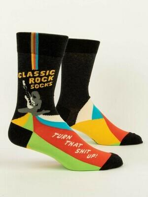 Blue Q Mens Socks - Classic Rock Socks