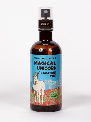 Blue Q Lavatory Mist - Shitting Glitter Magical Unicorn