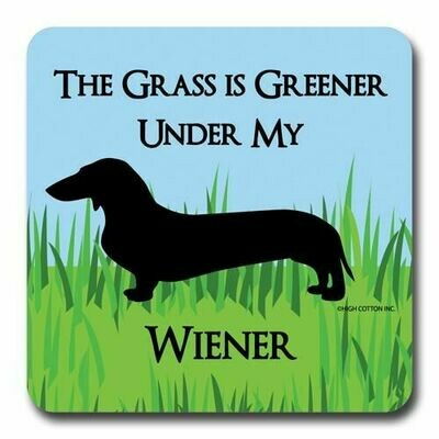 High Cotton Coasters - Greener Wiener