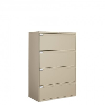 "Global 9300 Plus Series 36""W 4-Drawer Lateral File"