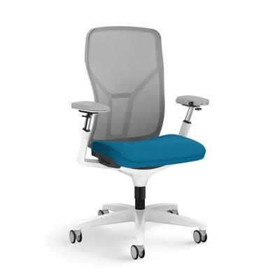 Allsteel Acuity Ergonomic Task Chair (Brilliant White)