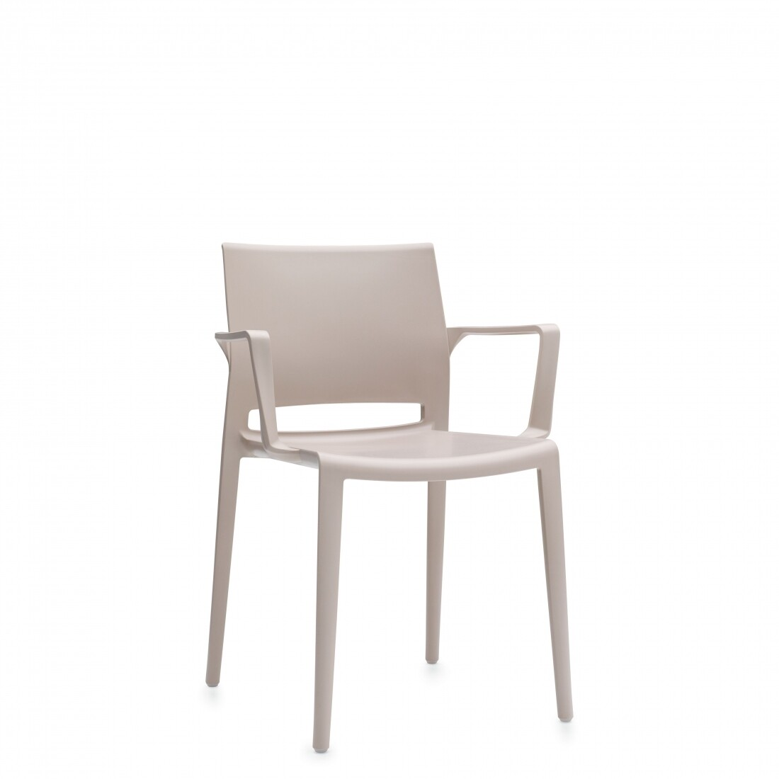 Global Bakhita Stackable Plastic Chair (4 Pack)