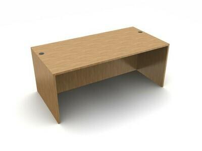 """OTG 71"""" Rectangular Desk Shell"""