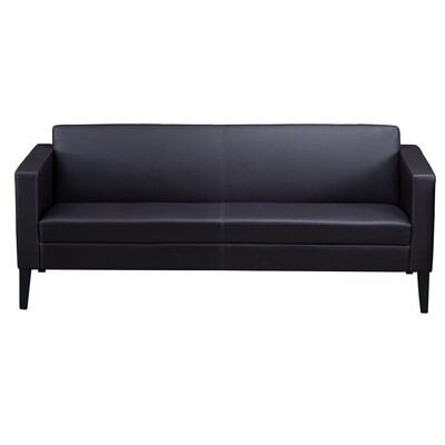 Safco Prestige Leather Lounge Sofa