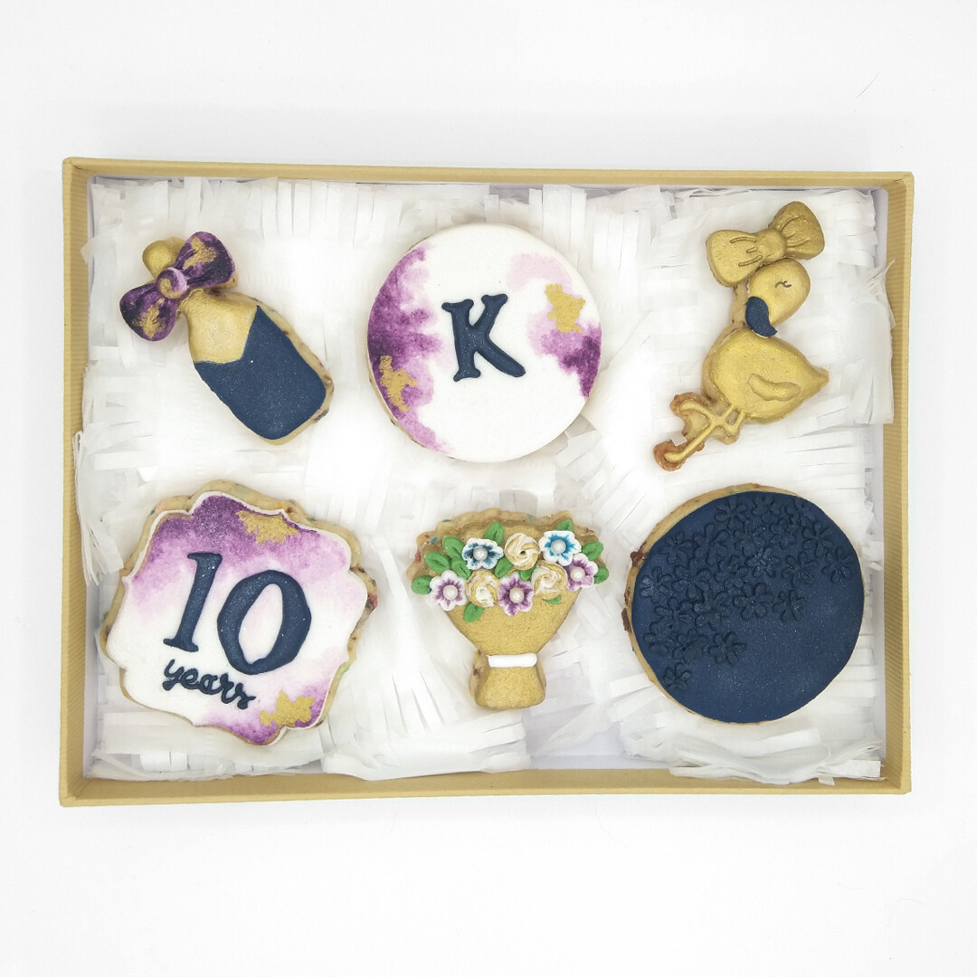 Personalized Giftbox 6 Cookies