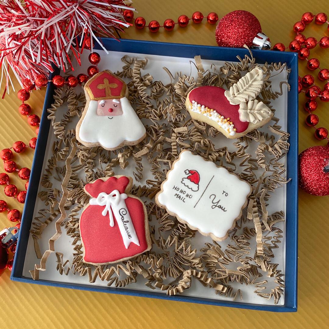 Christmas Sinterklaas Mini cookies