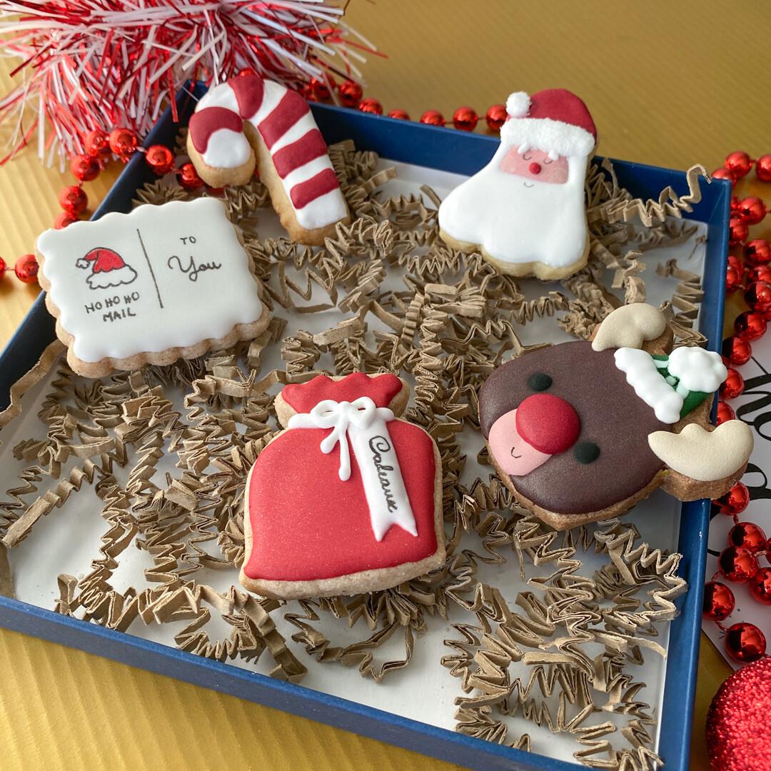 Christmas Santa Claus Mini cookies