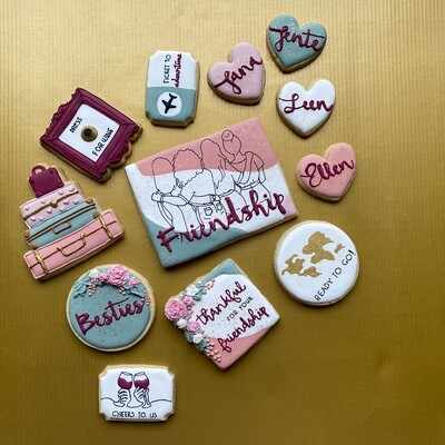 Personalized Giftbox 12 Cookies